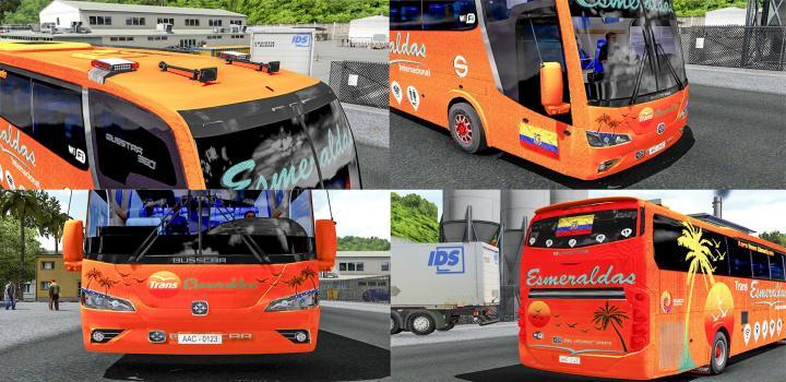 Photo of ETS2 – Busstar 360 4X2 (1.38.x)