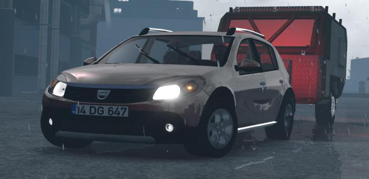 Photo of ETS2 – Dacia Sandero V1R40 (1.38.x)