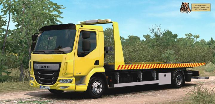 Photo of ETS2 – Daf Lf Truck (1.38.x)