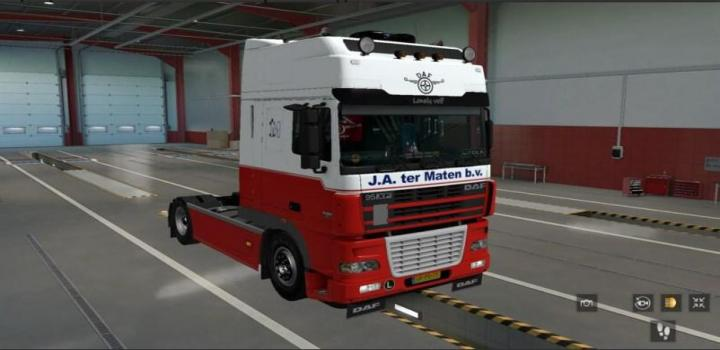 Photo of ETS2 – Daf Xf 95 V1 (1.38.x)