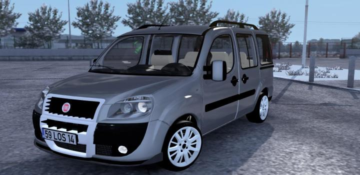 Photo of ETS2 – Fiat Doblo D2 V1R40 (1.36.x)