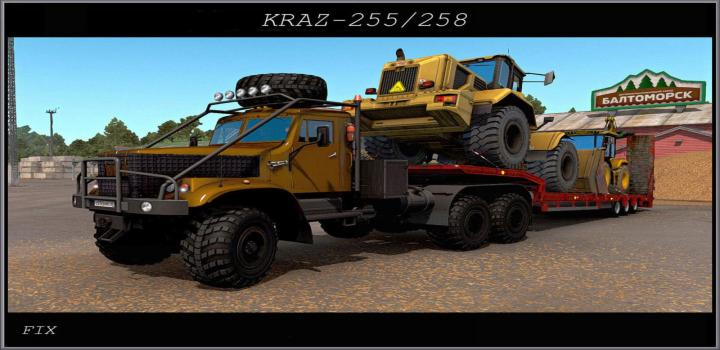 Photo of ETS2 – Fix for The Kraz 255 V1 (1.38.x)