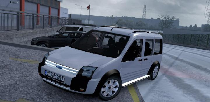 Photo of ETS2 – Ford Transit Connect V1R40 (1.38.x)