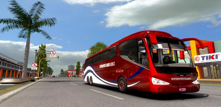 Photo of ETS2 – Irizar Pb Volvo 6X2 Bus (1.38.x)