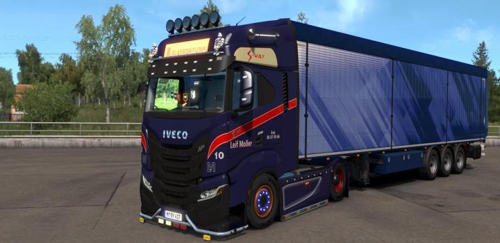 Photo of ETS2 – Iveco-S-Way 2020 V2.5 (1.38.x)
