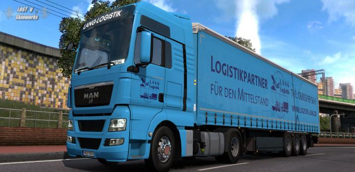 Photo of ETS2 – Lang Logistik Man Tgx Combo Skin (1.38.x)