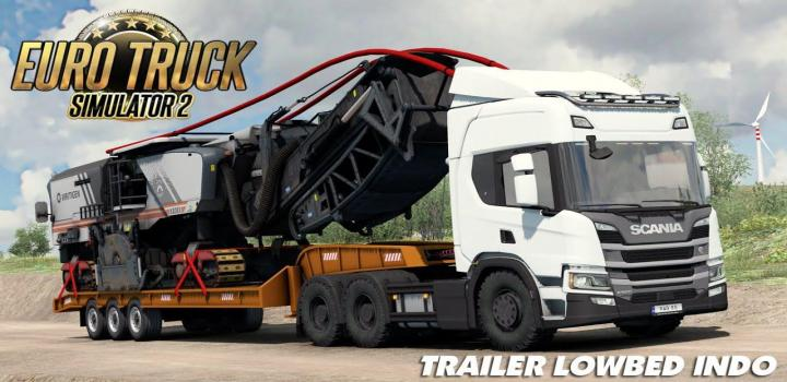 Photo of ETS2 – Lowbed Indo Trailer (1.38.x)