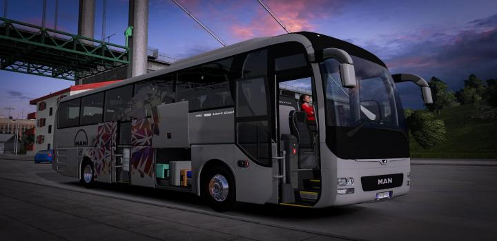 Photo of ETS2 – Man Lions Coach (1.38.x)