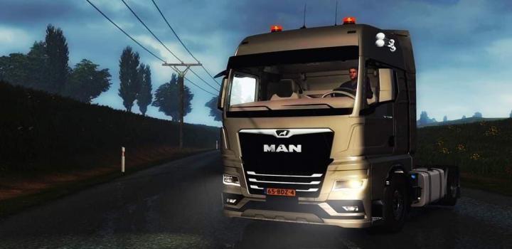 Photo of ETS2 – Man Tgx Truck (1.38.x)
