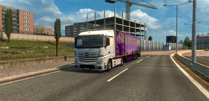 Photo of ETS2 – Mercedes Actros Mp4 V2.3 (1.38.x)