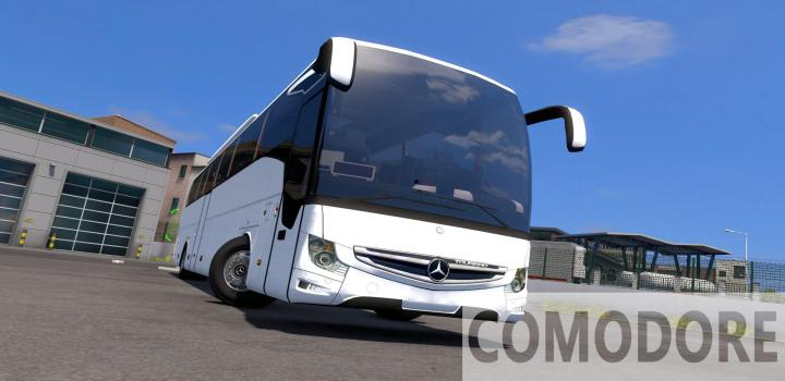 Photo of ETS2 – Mercedes-Benz New Tourismo Edition 1 15-16-17 Rhd V3.5 (1.38.x)