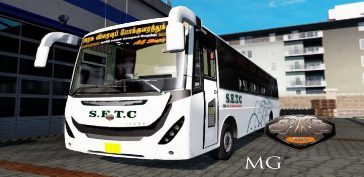 Photo of ETS2 – Mg Leera Bus (1.38.x)