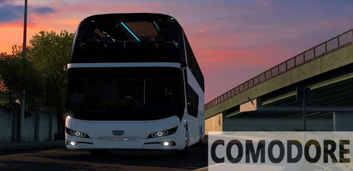 Photo of ETS2 – Neoplan Skyliner Euro 6 2020 (1.38.x)