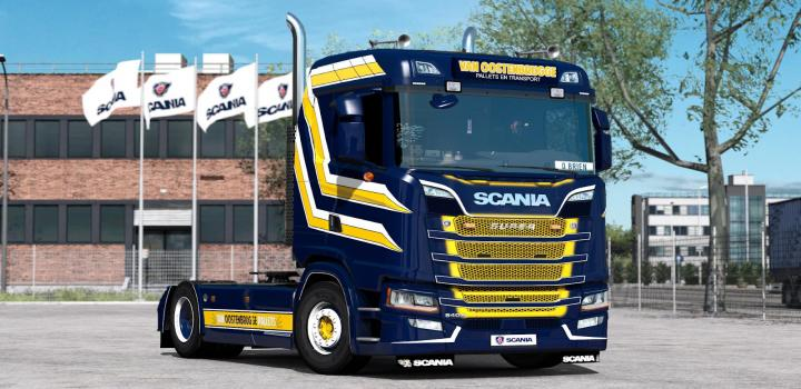 Photo of ETS2 – Nextgen Scania S & R L6 Sound V2 (1.38.x)