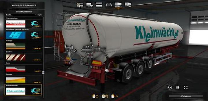 Photo of ETS2 – Owned Feldbinder Kip Trailer Pack V1.3.1 (1.38.x)