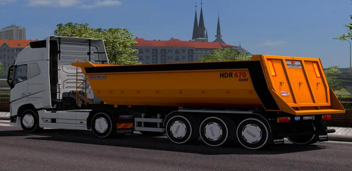 Photo of ETS2 – Oztreyler Dump Trailer (1.38.x)