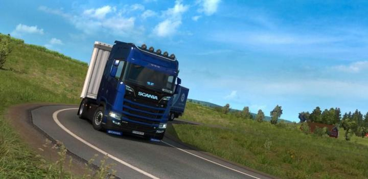Photo of ETS2 – Power On All Wheels for All Models Of Scania (1.38.x)