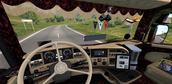Photo of ETS2 – Scania Custom Interior (1.38.x)