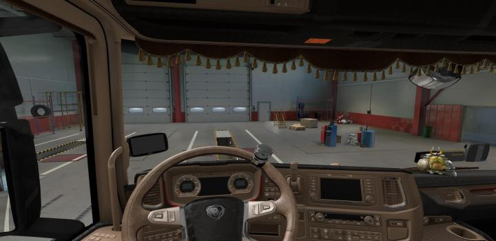 Photo of ETS2 – Scania Lux Interior V1.1 (1.38.x)