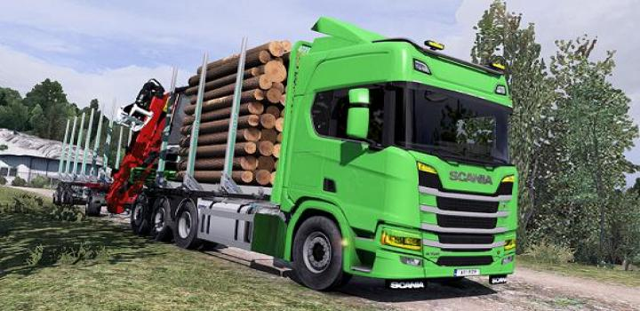 Photo of ETS2 – Scania Next Gen Rigid Forest Parts Fix (1.38.x)