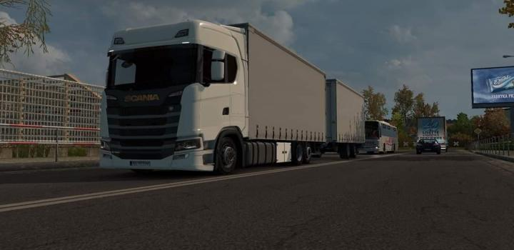 Photo of ETS2 – Scania S Tandem V1 (1.38.x)