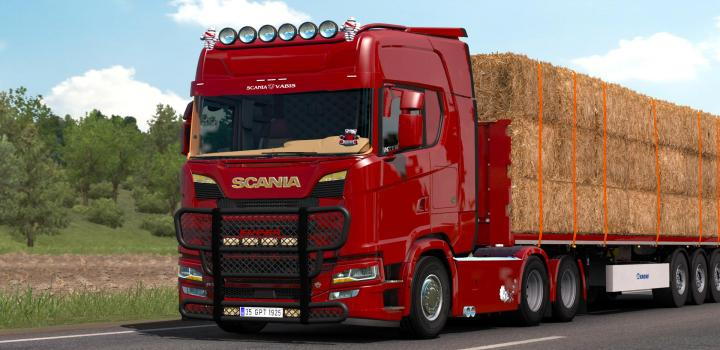 Photo of ETS2 – Scania S520 V8 Holland (1.38.x)