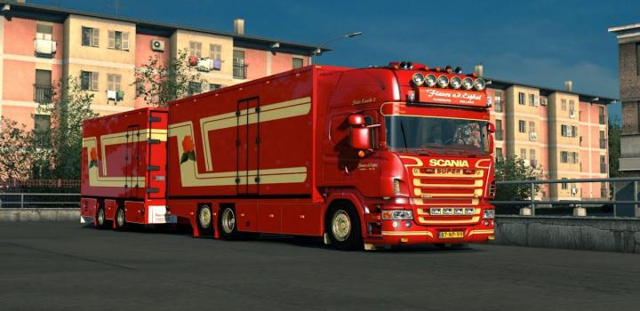 Photo of ETS2 – Scania V8 Crackle Version V11 (1.38.x)