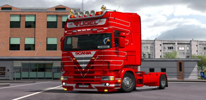 Photo of ETS2 – Scania V8 Deep Crackle Sound (1.38.x)