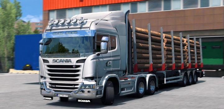 Photo of ETS2 – Scania V8 Euro 6 Stock Sound Fmod Conversion (1.38.x)