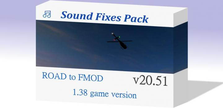 Photo of ETS2 – Sound Fixes Pack V20.51 (1.38.x)