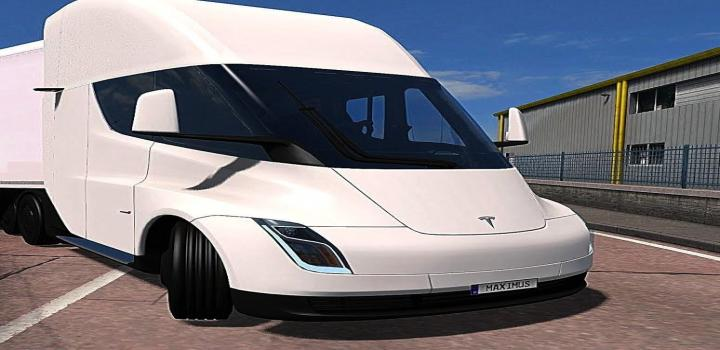 Photo of ETS2 – Tesla Truck 2020 (1.38.x)