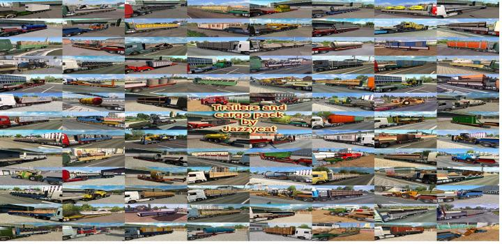 Photo of ETS2 – Trailers And Cargo Pack V8.9 (1.38.x)