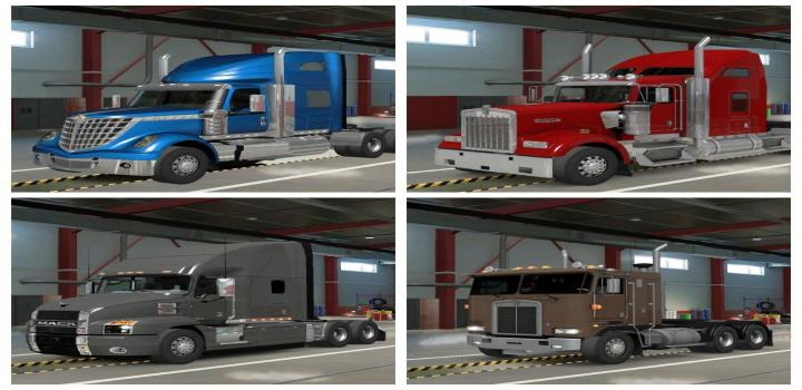 Photo of ETS2 – Trucks Pack (1.38.x)