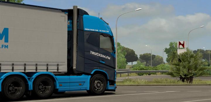 Photo of ETS2 – Tsfm Volvo Fh 2012 + Tuning Pack Skin (1.38.x)