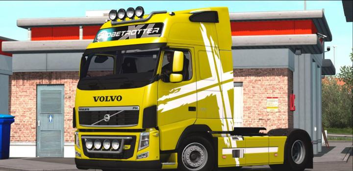 Photo of ETS2 – Volvo Fh 460 Truck (1.38.x)