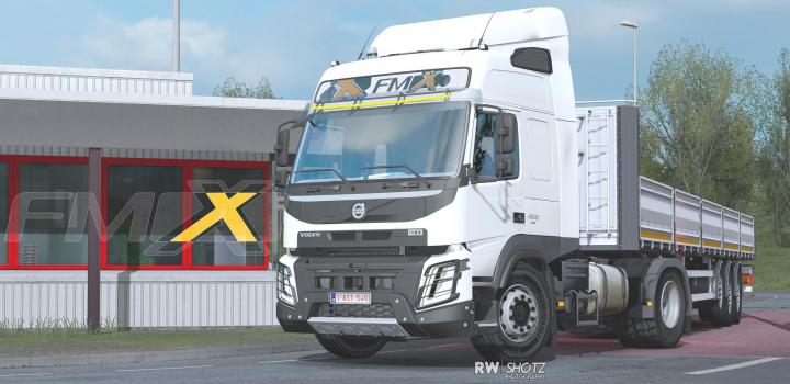Photo of ETS2 – Volvo Fm 500 & Fmx V1.3 (1.38.x)