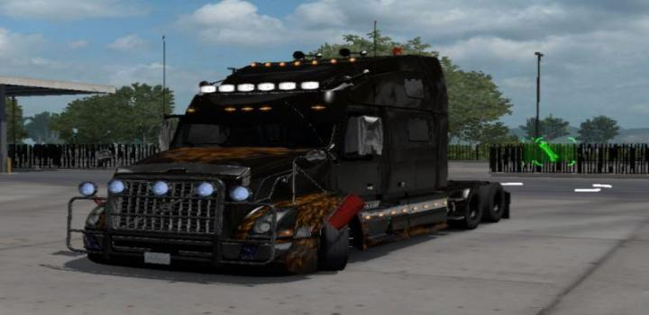 Photo of ETS2 – Volvo Vnl Custom Truck (1.38.x)