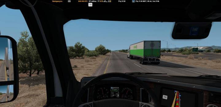 Photo of ATS – Ai Truck Speed For Jazzcat Painted Truck Traffic Pack V1 (1.38.x)