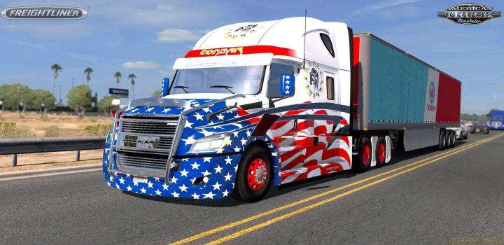 Photo of ATS – Freightliner Cascadia 2018 V1.18 (1.39.x)