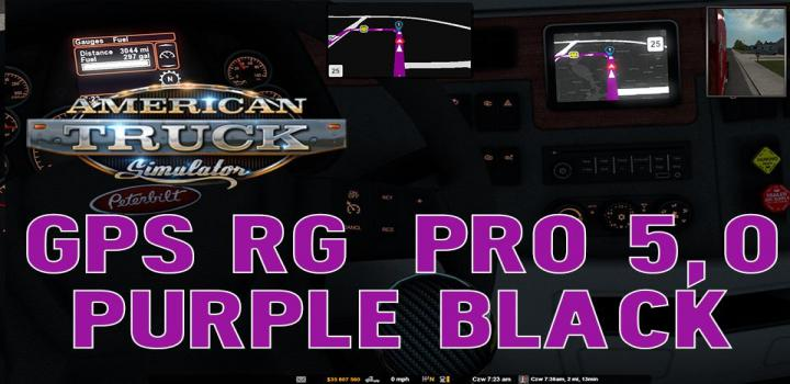 Photo of ATS – Gps Rg Pro Purple Black V5 (1.38.x)