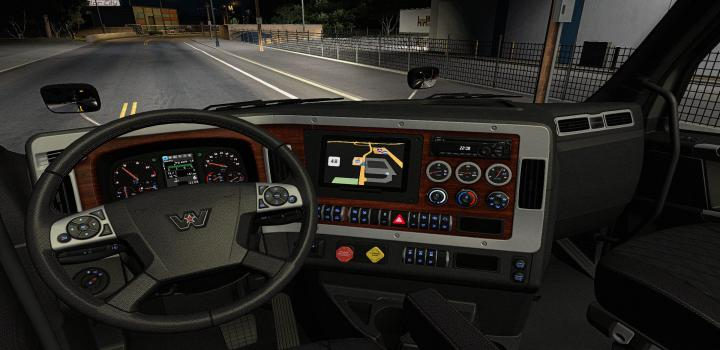 Photo of ATS – Interior For Western Star 49X V0.1 Beta (1.38.x)