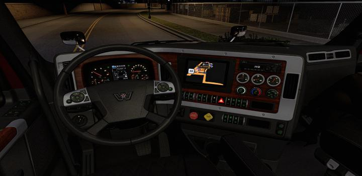 Photo of ATS – Interior For Western Star 49X V0.4 Beta (1.38.x)