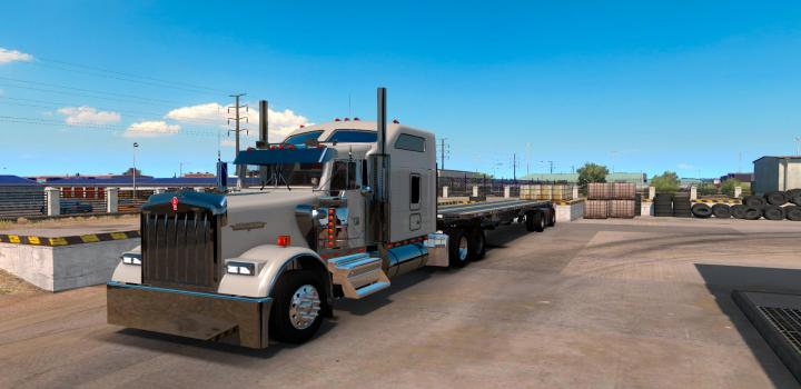 Photo of ATS – Kenworth W900 By Slava1 Updated (1.38.x)