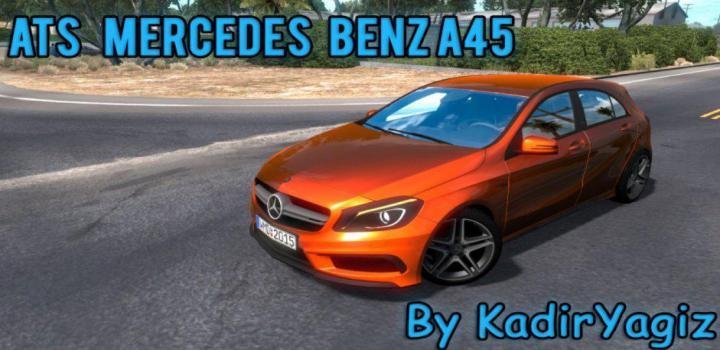 Photo of ATS – Mercedes-Benz A45 V1 Upgrade (1.38.x)