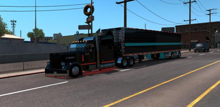 Photo of ATS – Peterbilt 389 Longhood (1.39.x)