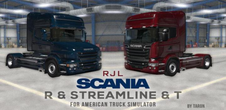 Photo of ATS – Rjl Scania R, Streamline & T Port (1.39.x)