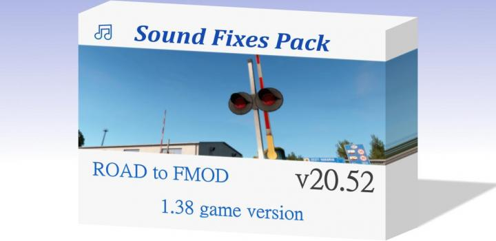 Photo of ATS – Sound Fixes Pack V20.52 (1.38.x)