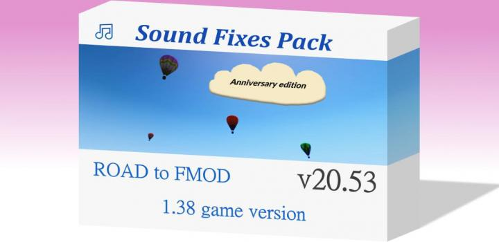 Photo of ATS – Sound Fixes Pack V20.53 (1.38.x)