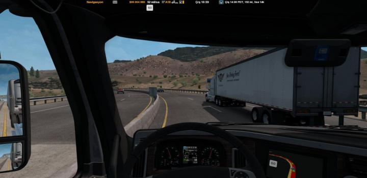 Photo of ATS – Tuned Traffic Pack Speed V1 (1.38.x)