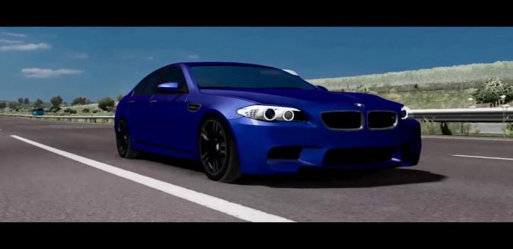 Photo of ETS2 – Bmw M5 F10 New Fix (1.38.x)